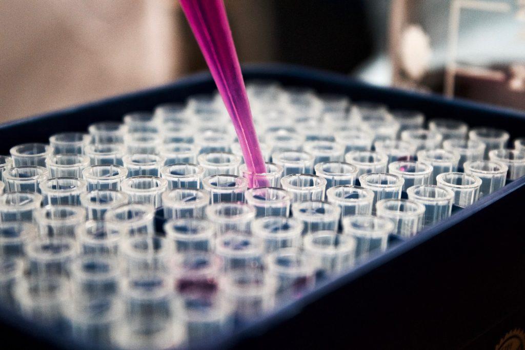 Vaccine testing process in laboratory